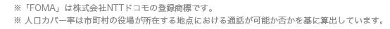 「FOMA」は株式会社NTTドコモの商標登録です。